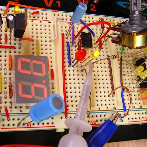 Осциллограф из звуковой платы - Подсоединяемся к плате для исследования сигнала.